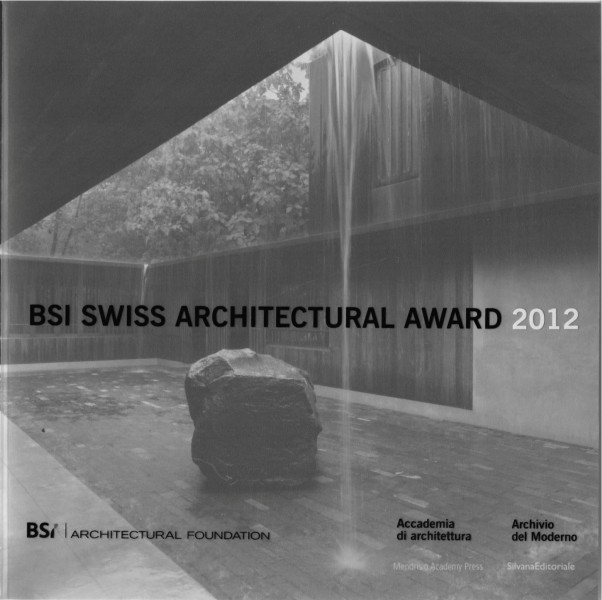BSI swiss architectural award pb
